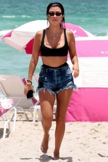 Kourtney Kardashian, ¡muy provocativa!