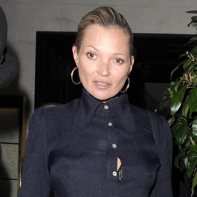 Kate Moss, ¡a punto de estallar!