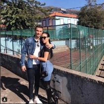 Cristiano y Georgina, en Madeira