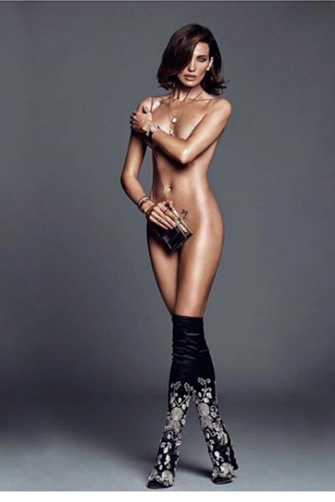 Nieves Álvarez desnuda en Instagram