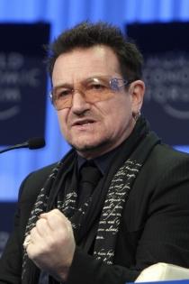 Famosos que son Tauro: Bono