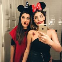 Aida Domenech y Alba Paul se disfrazan juntas para Halloween