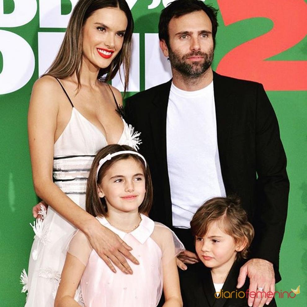 La familia de Alessandra Ambrosio y Jamie Mazur