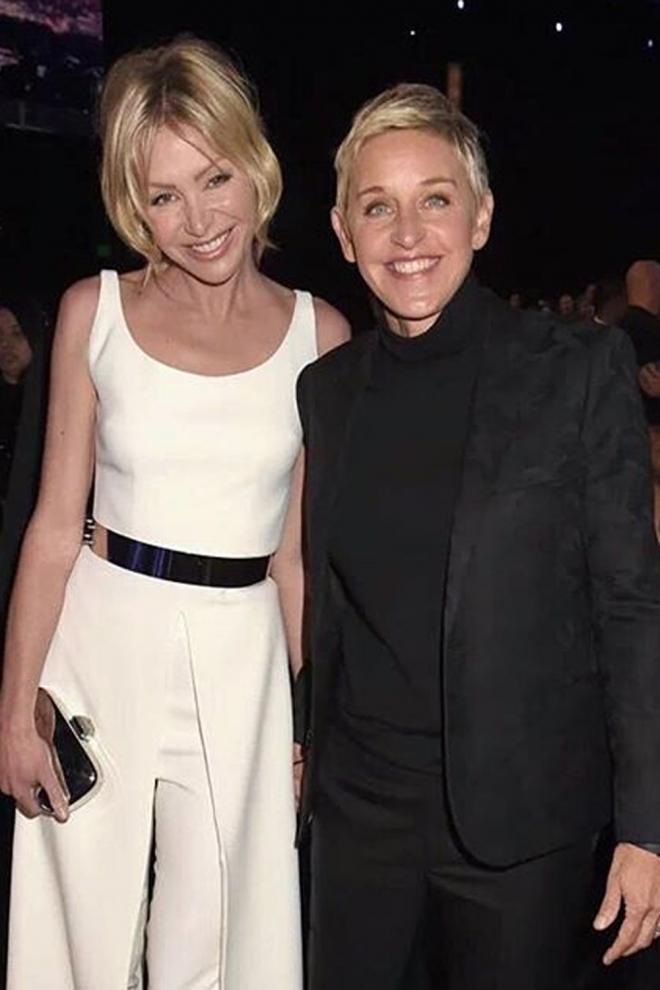 Ellen DeGeneres y Portia De Rossi derrochan elegancia por donde van