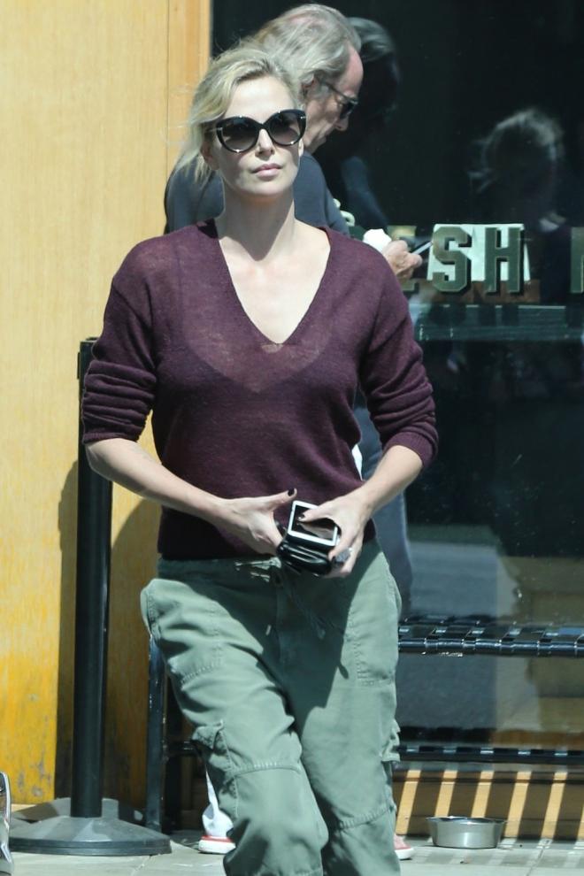 Famosas que son Leo: Charlize Theron