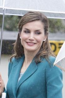 Famosas que son Virgo: Letizia Ortiz