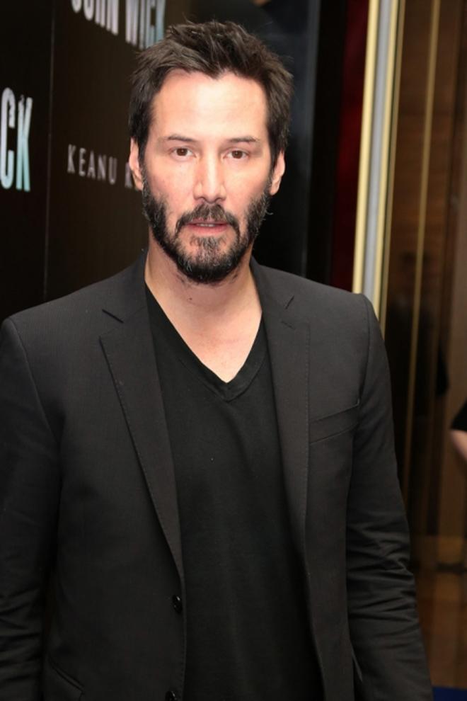 Famosos que son Virgo: Keanu Reeves