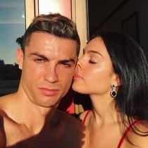 Georgina y Cristiano, amor bajo el sol