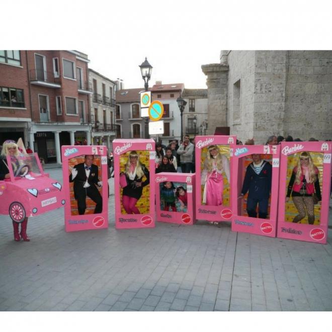 Disfraces de Carnaval en grupo: Barbie