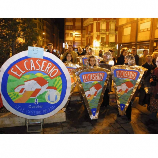 Disfraces de Carnaval en grupo: El Caserío