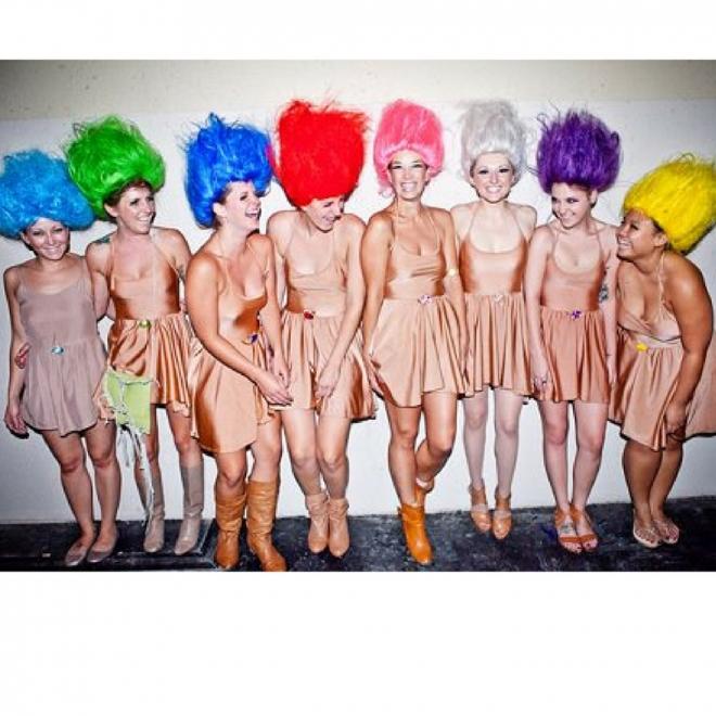 Disfraces de Carnaval en grupo: Trolls