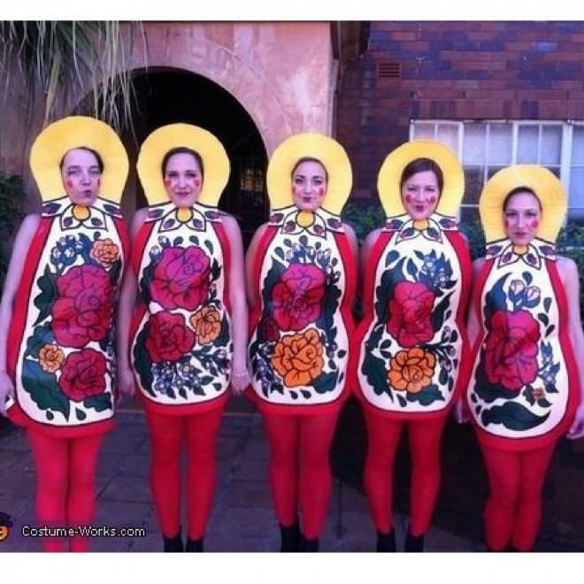 Disfraces de carnaval en grupo: Matrioska