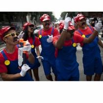 Disfraces de carnaval en grupo: Mario Bros.
