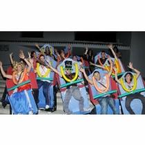 Disfraces de carnaval en grupo: Montaña rusa