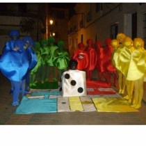 Disfraces de carnaval en grupo: Parchís