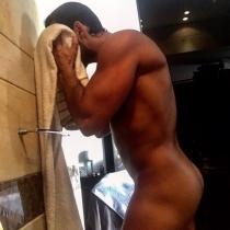 El desnudo más sexy de Fabián Ríos