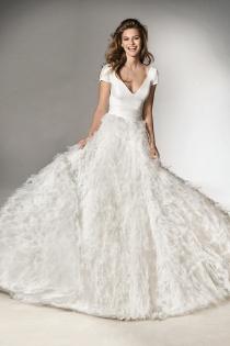 Vestidos de novia 2018: Mezclando estilos
