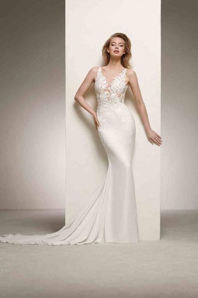 Vestidos de novia 2018: ¡100 % femenino!