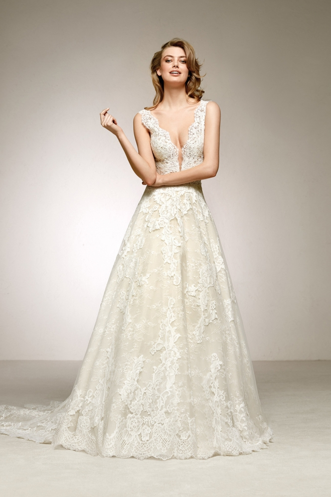 Vestidos de novia 2018: ¡Sensual!