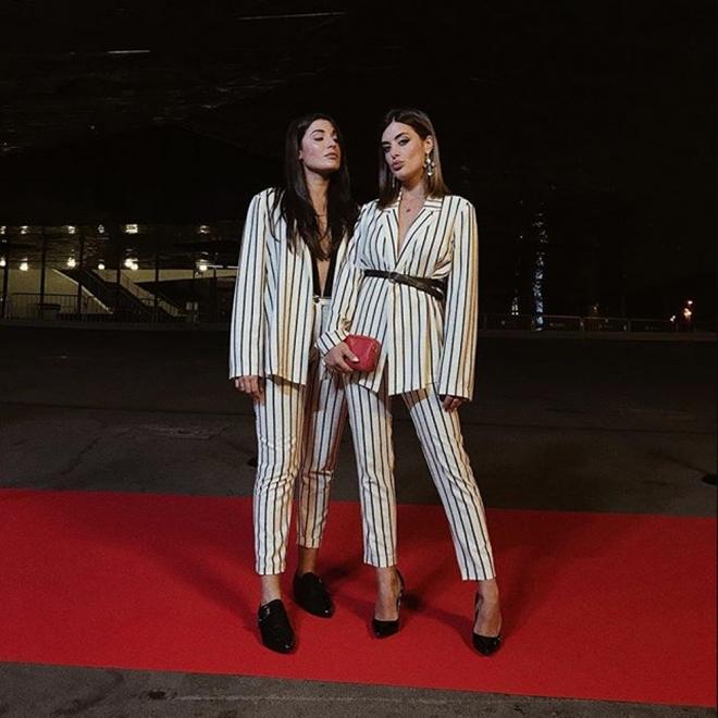 Aida Domenech y Alba Paul, a juego para los Premis Gaudí 2018