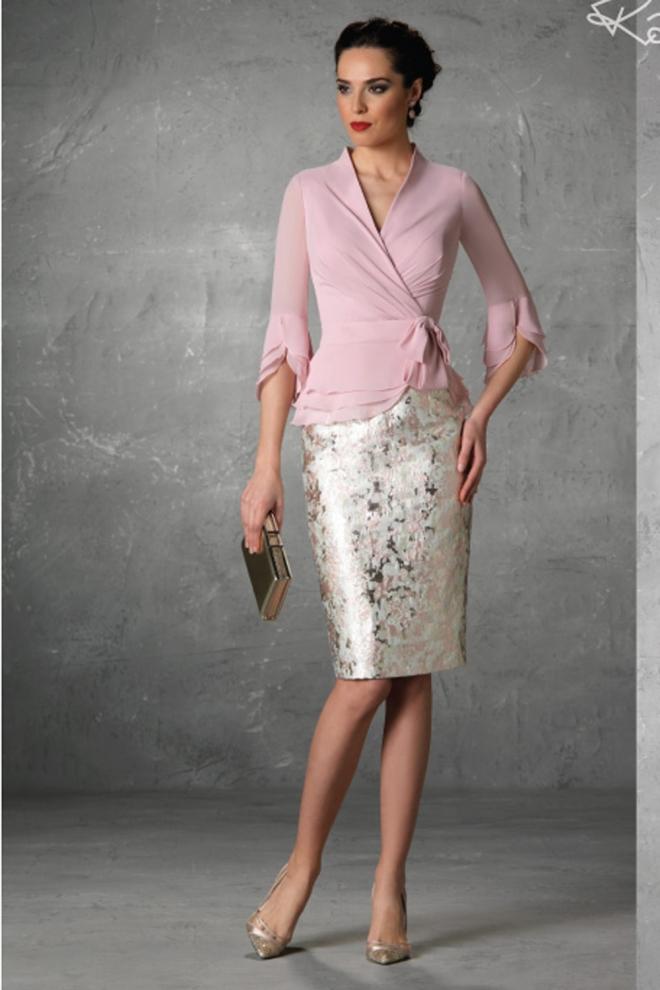 Boda La Para Vestidos Elegantes Bautizo Madrina De O 3Rj54AcLqS