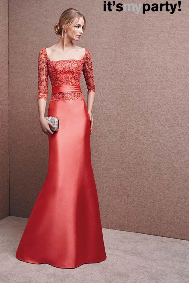 Elegantes Vestidos Para La Madrina De Boda O Bautizo