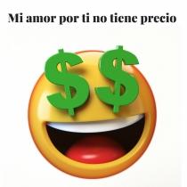 Frase de amor con emoticono: ¡Original!