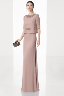 Elegante vestido para la madre de la novia