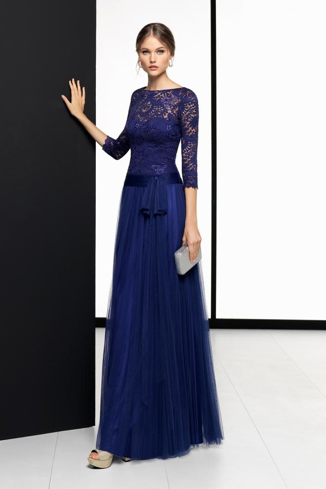 Glamuroso vestido de boda para la madre de la novia