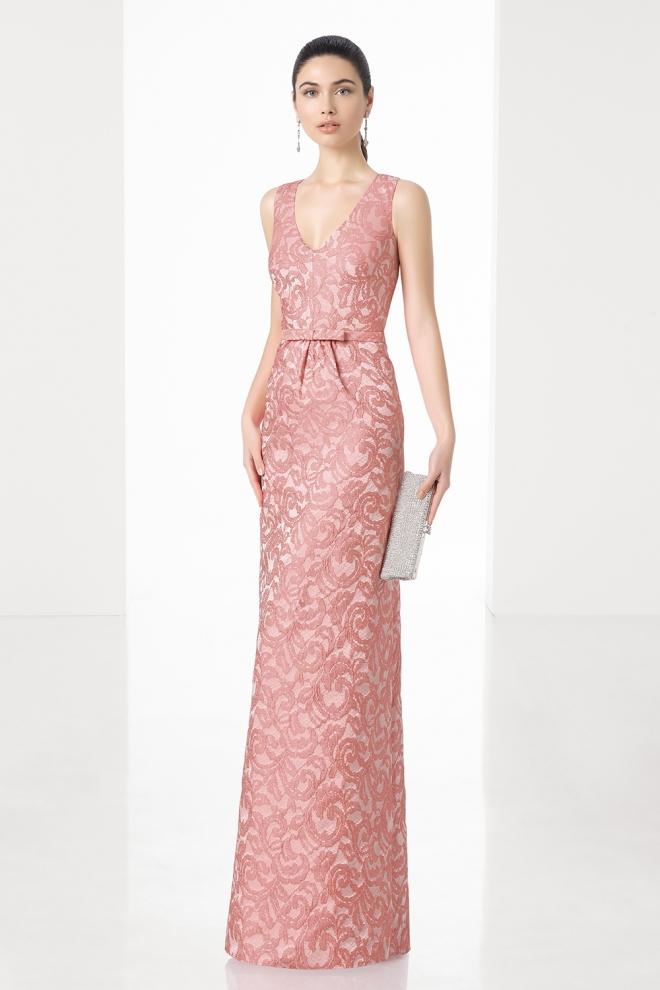 Clásico vestido de boda para la madre de la novia