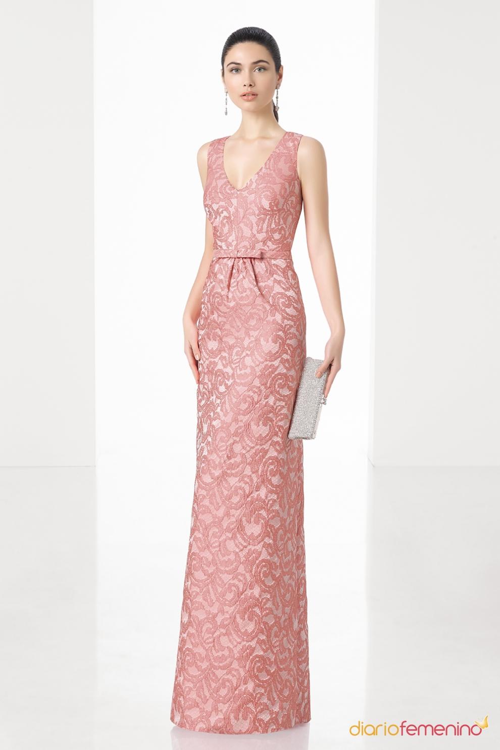 vestido de boda para la madre de la novia