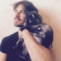 Gatos de famosos: Sohalia, el lindo gatito de Ian Somenhalder