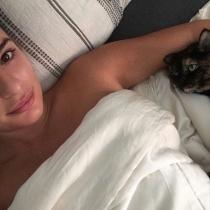 Gatos de famosos: Sheila, la gran amiga de Lea Michelle