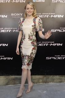 Emma Stone y su vestido de fiesta para el día