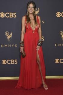 El sexy vestido de fiesta de Heidi Klum