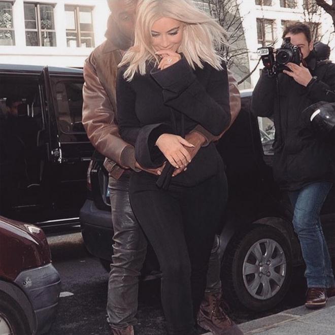 La romántica foto de Kim Kardashian para San Valentín