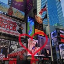 El San Valentín de Chiara Ferragni llega a Times Square