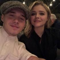 El San Valentín más romántico de Brooklyn Beckham y Chloe Moretz