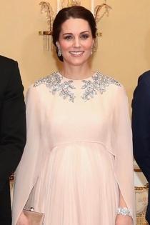 El vestido premamá más elegante de Kate Middleton