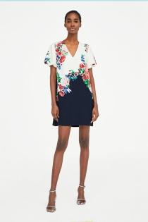 Los vestidos de flores de Zara para tu primavera más glamurosa