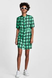 Multifuncional vestido de ZARA para esta primavera 2018