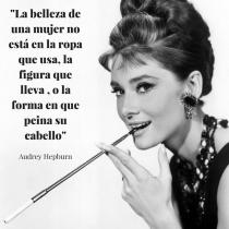 Frase del día de Audrey Hepburn
