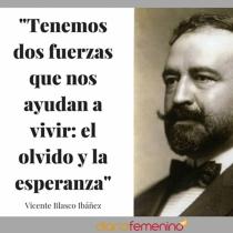 Frase del día de Vicente Blasco Ibáñez