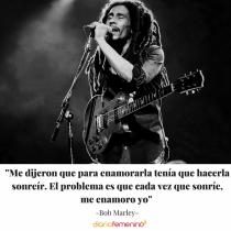 Frase del día de Bob Marley