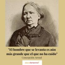 Frase del día de Concepción Arenal