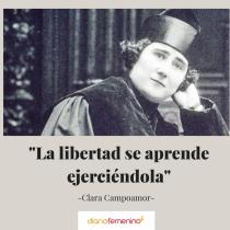 Frase del día de Clara Campoamor