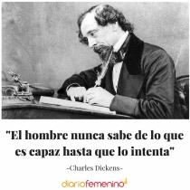 Frase del día de Charles Dickens