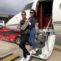 Cristiano y Georgina, ¡amor de altos vueltos!