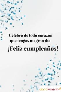 Sentida felicitación de cumpleaños para Acuario
