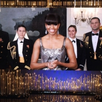 Michelle Obama se cuela en los Oscars 2013